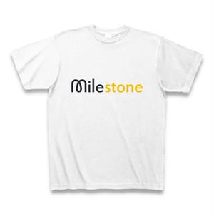 milestoneロゴT(イエロー)