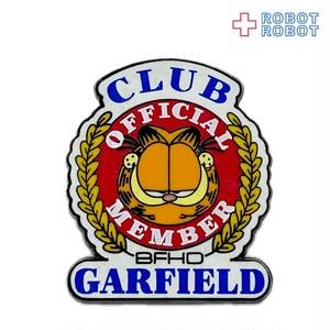 ガーフィールド ピンバッジ official member