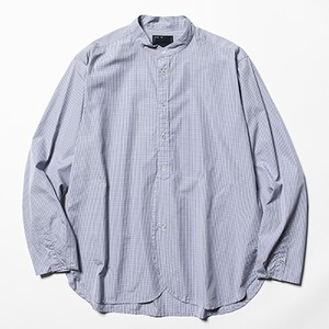 meanwhile  Imperial Poplin SH Navy Check