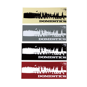 DOMESTICS SOLDIERS STICKER