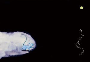 ポストカード⑨|トンネルとネズミ