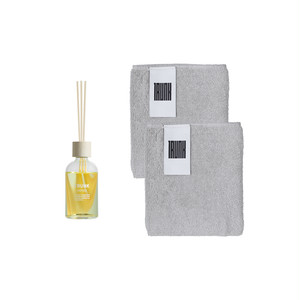 【Mother's Day】Reed Diffuser & Face Towel ×2