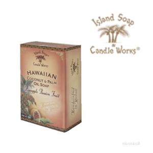【Island Soap&Candle Works】ココナッツソープ パイナップルパッションフルーツ/アイランドソープ/ハワイアン