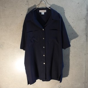Short Sleeve Rayon Poly Shirt