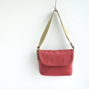 CANVAS FLAP SHOULDER S / RED