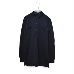 45rpm / フォティーファイブアールピーエム | ニットワークシャツ | 1 | ネイビー