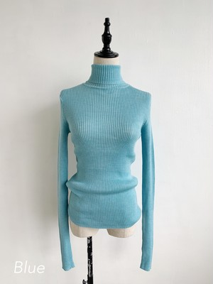 Bilitis dix-sept ans  Rib Turtle Neck Sweater