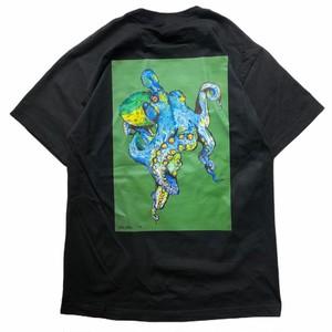 Octopus T-shirts (Black)