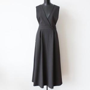 (再入荷)PLEASE ピンストライプジャンパースカート:PLE-0834 ¥16,800+tax