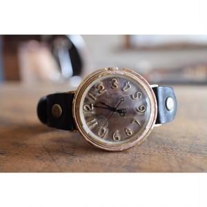 手作り数字の時計