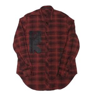 637SHM3-RED / フランネルシャツ