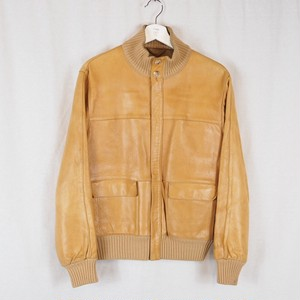 Vintage Camel Leather Jacket