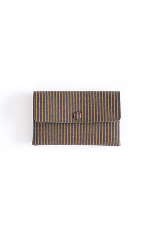Card case / Y. & SONS×Aeta / 1Layer / 遠州綿紬