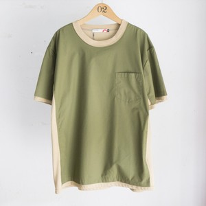 [ACTS] Layered SHORT SLEEVE (KH×BEG)