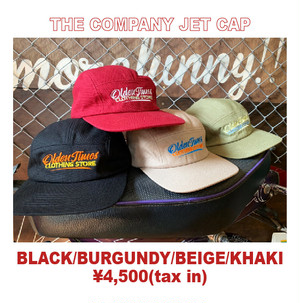 THE COMPANY JET CAP