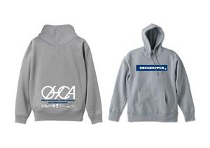 OHCAHOPPERS パーカー ヘザーグレー×ネイビー 009(NEW)