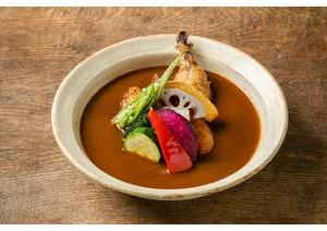 お家でレストラン!チキンの冷凍スープカレー