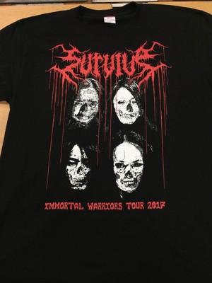 Immortal  Worriors Tour 2017 ZOMBIE