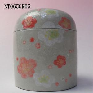 陶器製ミニ骨壷あんのん(NT065GR05) 梅