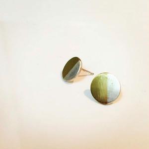 gold × silver pierce
