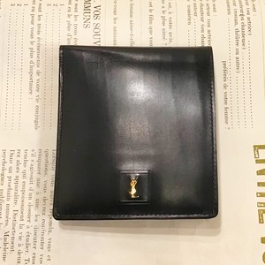-dead stock- Yves Saint Laurent leather wallet