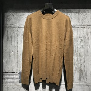 【08sircus】Fulling wool crew neck sweater
