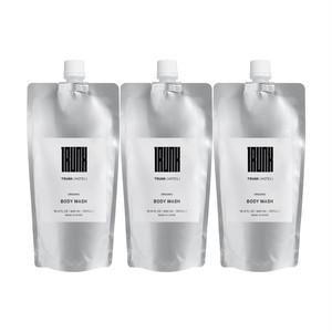 【SET】TRUNK Organic Body Wash Refill ×3