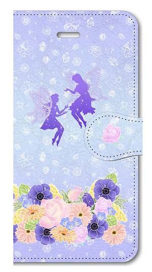 【iPhone5/5s/SE】Fairy Magic フェアリー・マジック 手帳型スマホケース