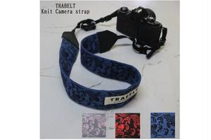 TRABELT 着せ替え可能なKnitカメラストラップ 【Koi】