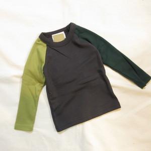 韓国子供服☆80~140cm ラグランTシャツ