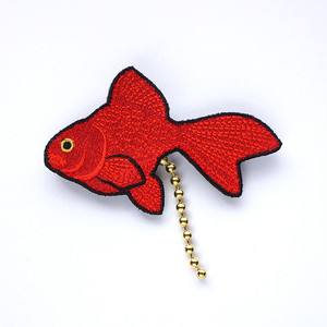 フンフン♪ブローチ(金魚)