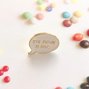 Pin Badge / Speech bubble