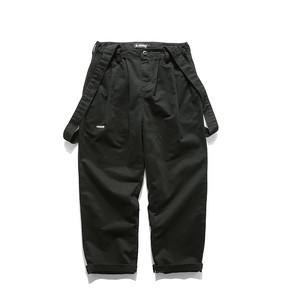 【UNISEX】ワーク カーゴ オーバーオール サロペット サスペンダー ズボン【3colors】UN-A0063