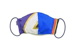 【夏用デザイナーズマスク 吸水速乾COOLMAX使用 日本製】SPORTS MIX MASK F0812149