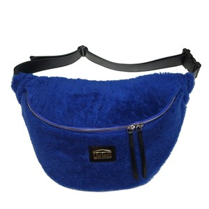 Aries Sheepskin Elis Bag BLUE