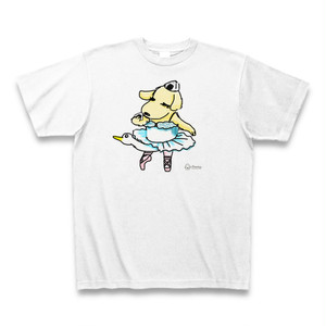 イヌリーナのスワンで「お、お腹減ったな」Tシャツ