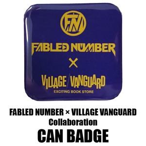 VILLAGE VANGURD コラボ缶バッジ