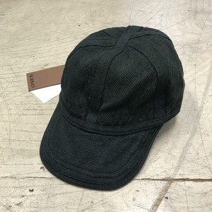 BEAUGAN 6 PANEL HAT GREEN