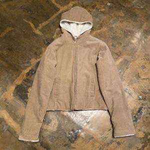 Corduroy Hooded Jacket / Lee