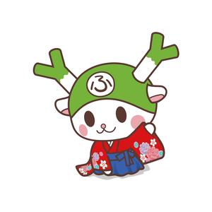 フィルター・ストッパー付き ふっかちゃんマスク / No.214【百人一首】