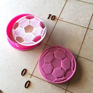 サッカーボール クッキー型