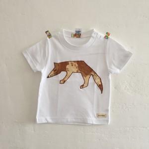 キツネTシャツ100cm