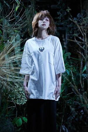 ヤタガラスTシャツ/ホワイト