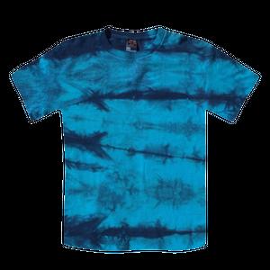 カジュアル藍染Tシャツ|奄美の海 ターコイズブルー/ai002
