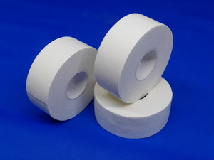 ホワイトテープ・2.5cm幅(1巻/12m)