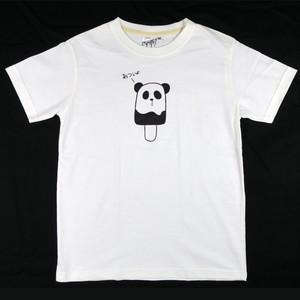 「あついよ」のセリフも可愛い「パンダポップ」Tシャツ 親子でおそろいコーデも可能!