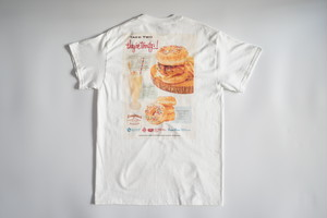 THE GREAT BURGER × BURGER MANIA 限定コラボTEE