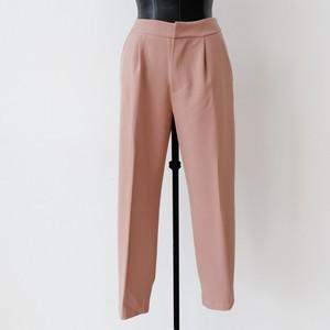 SOUVENIR 裾デザインテーパードパンツ:SOU-71 ¥17,800+tax