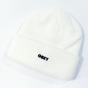 【OBEY】 FUTURE BEANIE (WHITE)