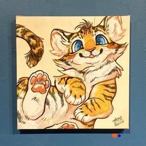 【mofuwa】原画「BABIES(tiger)」